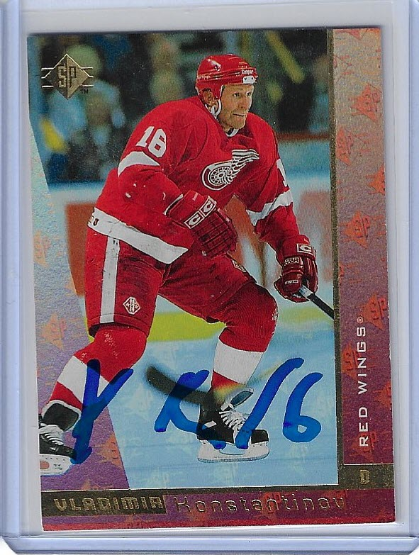 Vladimir Konstantinov 1996 SP Base Set 53 Autographed Card.jpg
